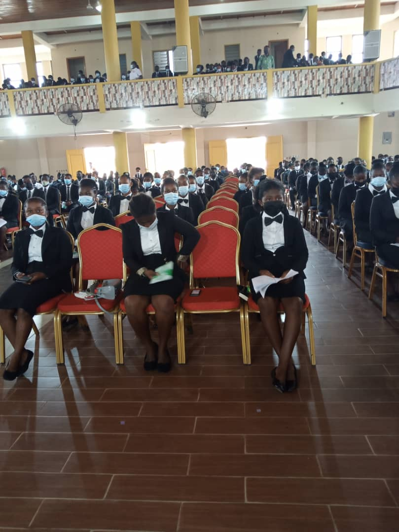 IMG 20210214 WA0127 - OFFINSO COLLEGE OF EDUCATION HOLDS MATRICULATION FOR FRESH STUDENTS