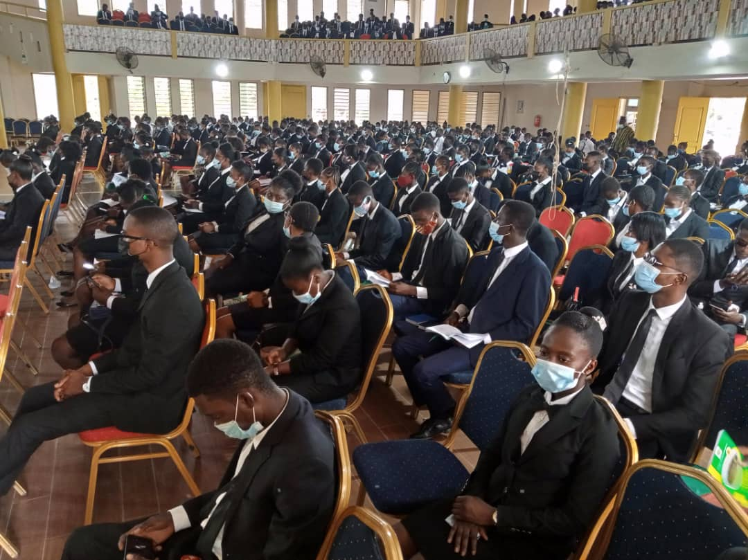IMG 20210214 WA0129 - OFFINSO COLLEGE OF EDUCATION HOLDS MATRICULATION FOR FRESH STUDENTS