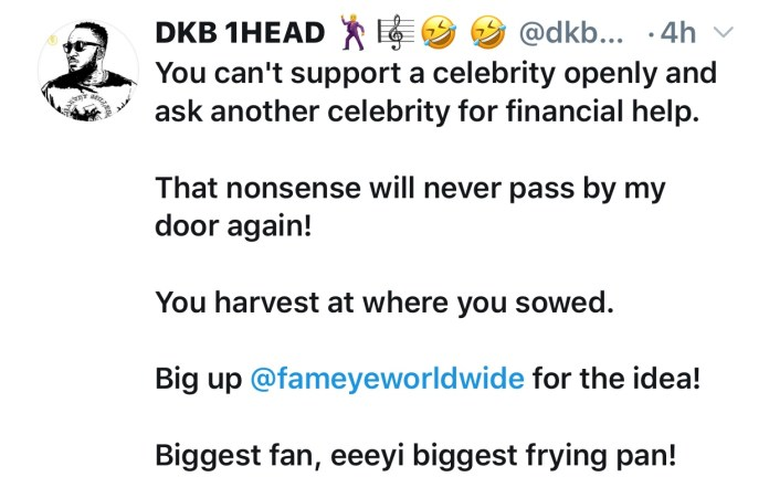 img 3815 - Check Out What DKB Tells Sarkodie Fan Who Asked Him For Help