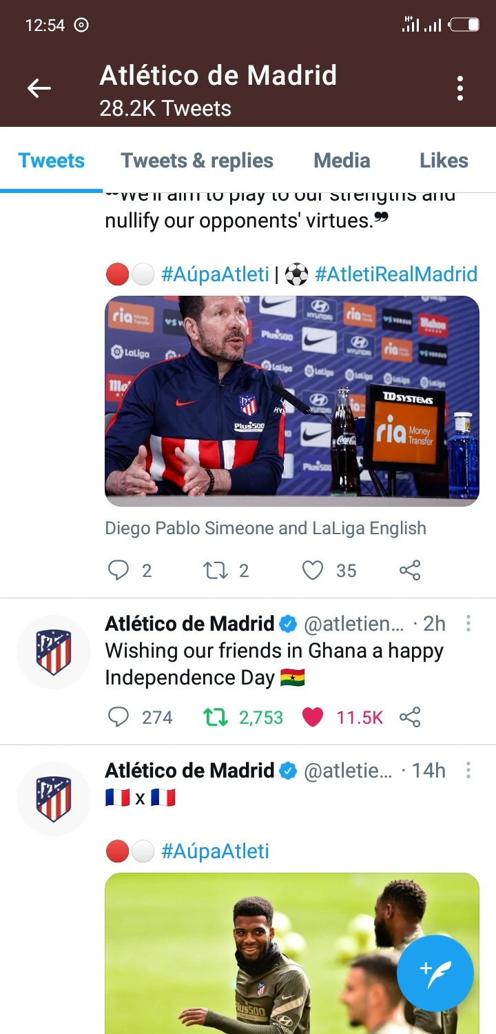 newslite1615073701945 - Wow! Atlético Madrid Wished All Ghanaians A Happy Independence Day Yesterday