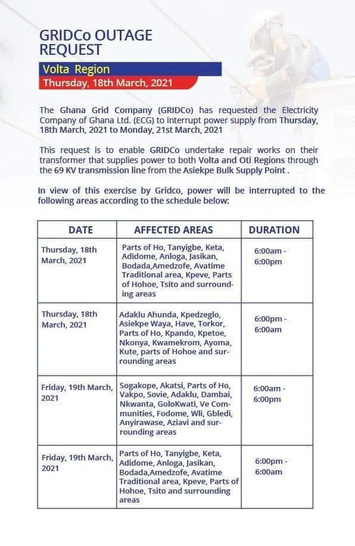 """newslite1616061182564 - ECG releases """"Dumsor"""" Timetable, Check Affected Areas"""