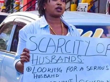 newslite1618132112068 - Lotto For All Men:A Woman Was Seen On The Streets Begging Men To Marry Her