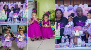 couple twins ft 300x165 - Birthday Party For Twins Turns Into Funeral As Couple Shed Tears While Recounting How The Kids Survived In The Womb For 3yrs Before They Were Born- Photos