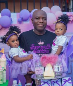 twins4 256x300 - Birthday Party For Twins Turns Into Funeral As Couple Shed Tears While Recounting How The Kids Survived In The Womb For 3yrs Before They Were Born- Photos